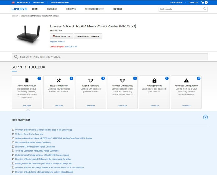 Linksys MR7350 router review