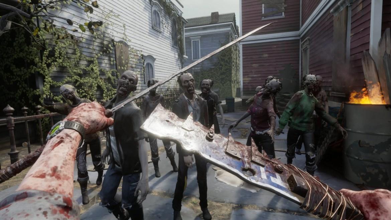 Best Oculus Quest 2 games: Walking Dead VR