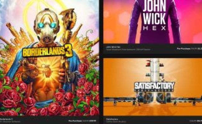 The Epic Games Store S First Big Sale Is Live Includes A
