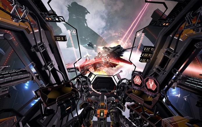 best VR games: Eve: Valkyrie