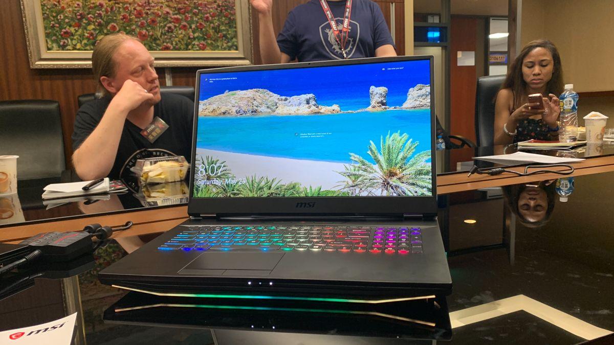 MSI GT76 Titan : Laptop Gaming MSI Dengan Cpu I9-9900K Serta Ram 128GB