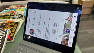 The current Instagram iPad app