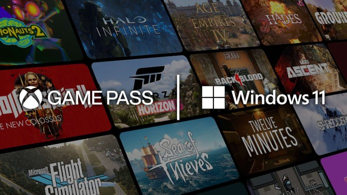 an Xbox Game Pass image with Windows 11
