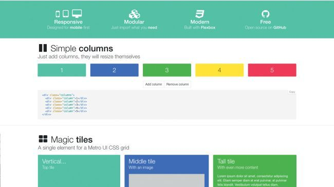 Create custom layouts easily with Flexbox