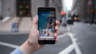 The Pixel 2 has sizeable bezels, hopefully the Pixel 3 won't