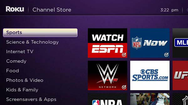 Best Roku channels: NBA Game Time