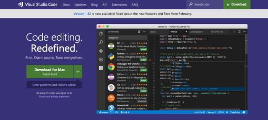 best code editors: Visual Studio Code