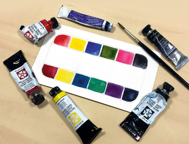 hUmtoHT4AJXwL6BvF5GUYB A beginner's guide to working with colour in watercolour Random