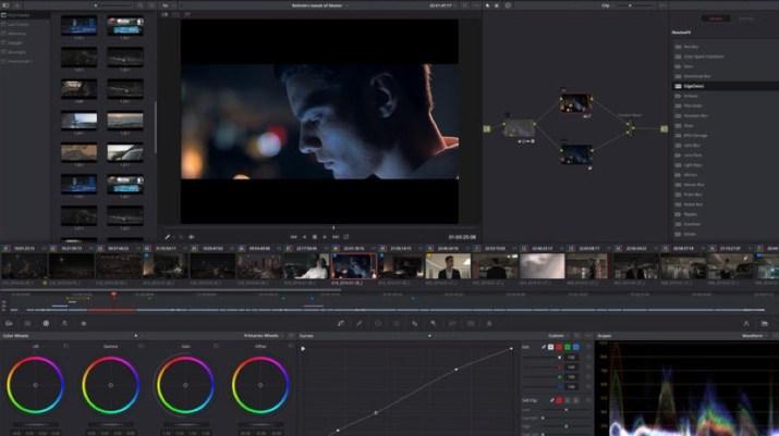 DaVinci Resolve screen grab