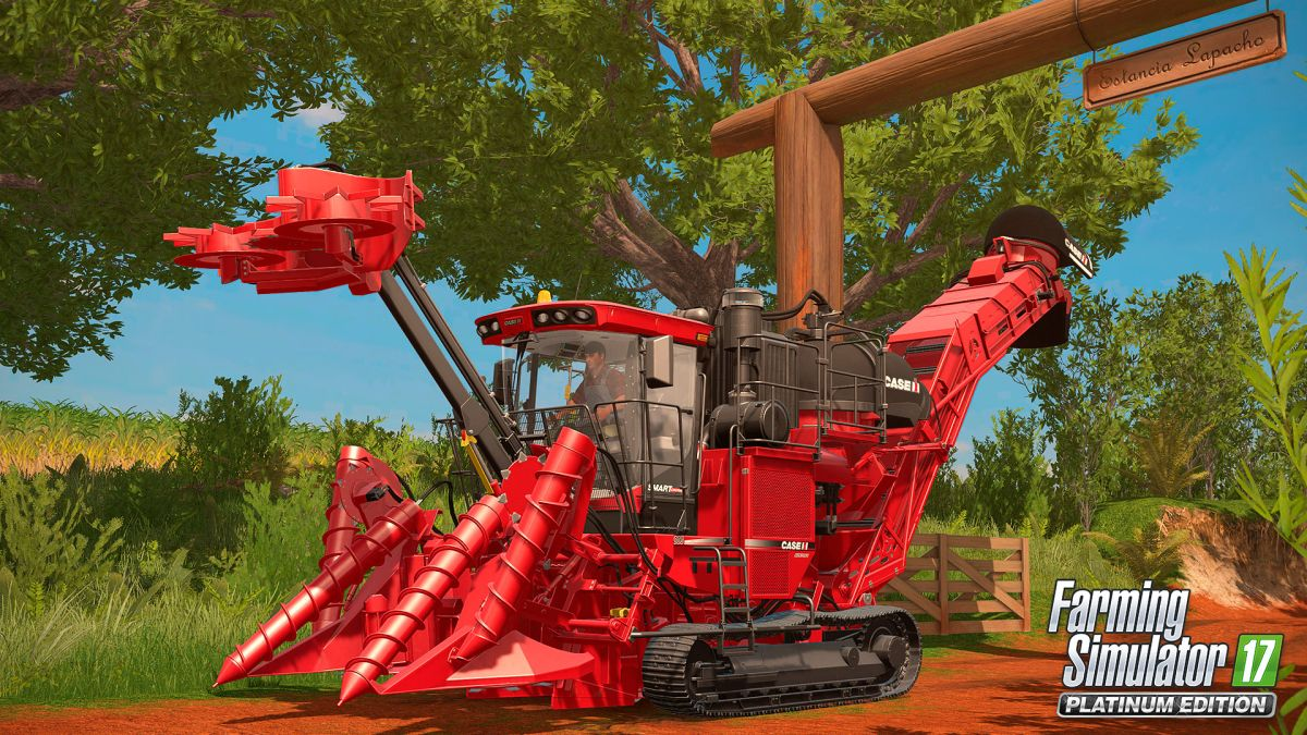 Farming Simulator 17 To Get Sugarcane Farms And New Tractors In Platinum Expansion PC Gamer
