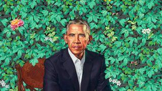 presidential portrait draws a