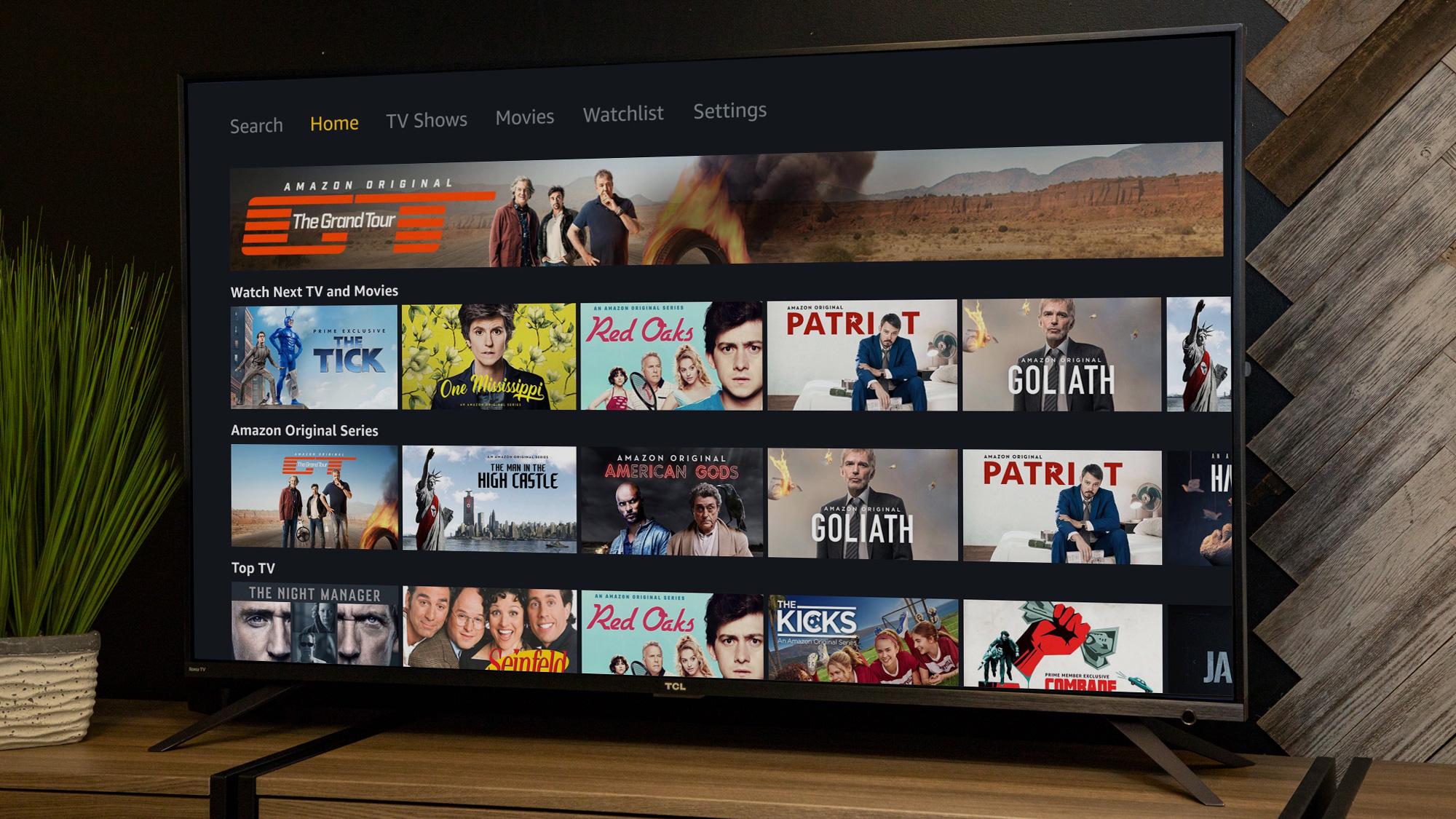 Best streaming service: Amazon Prime