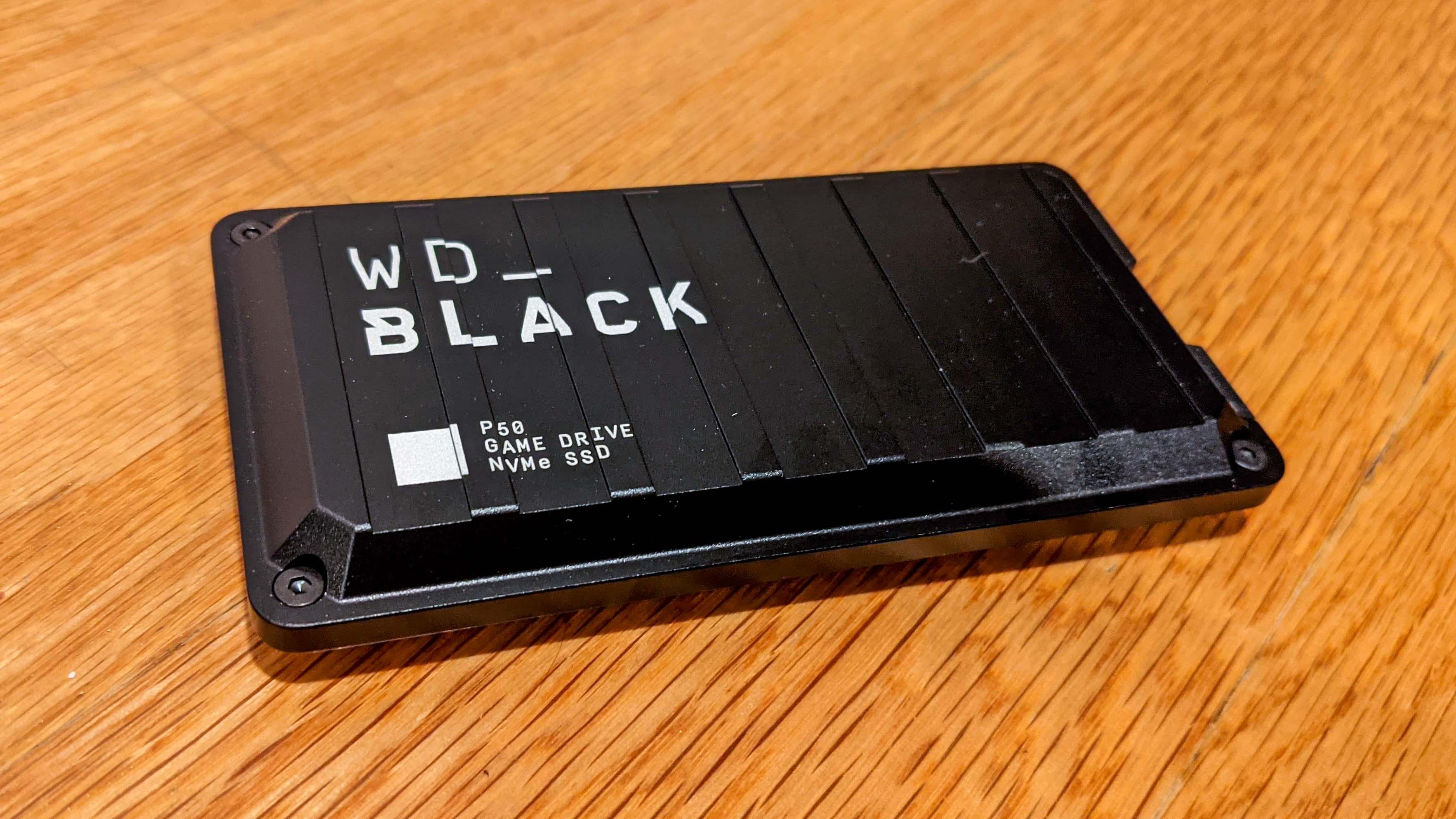 Best PS5 external hard drives: WD Black P50
