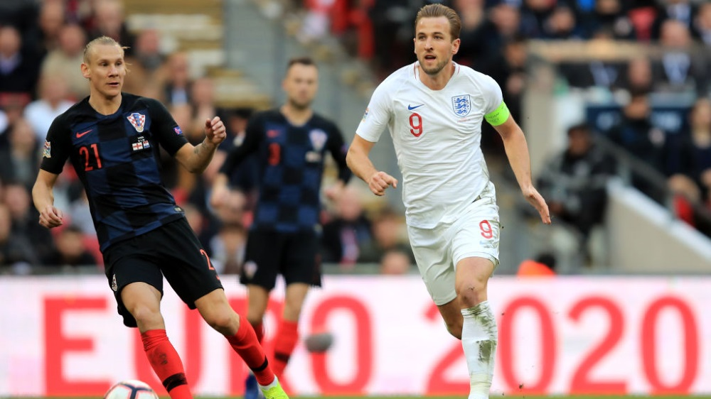 Harry Kane for England in Nations League on ESPN+
