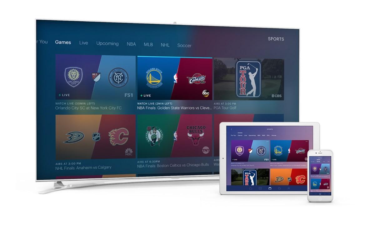 Hulu with Live TV review: sports — Credit: Hulu