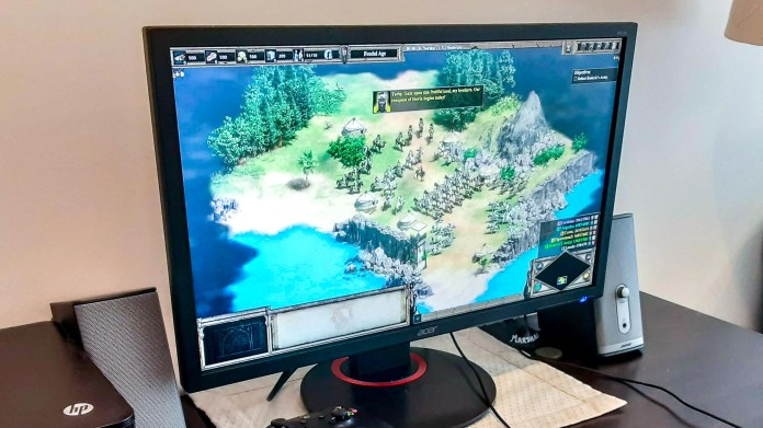 Best gaming monitors: Acer XFA240