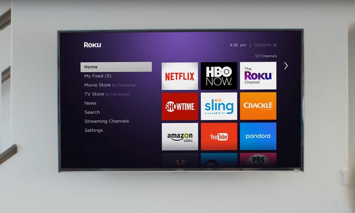 Roku Streaming Stick Plus review: home screen