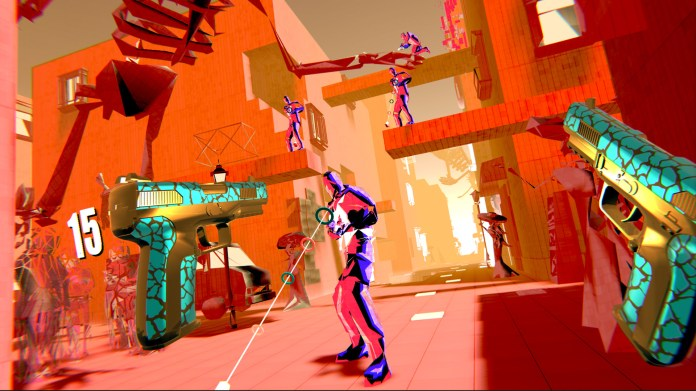 best VR games: Pistol Whip