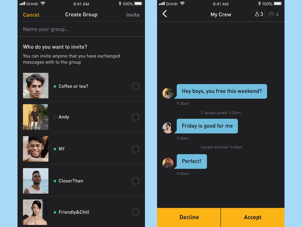 best dating apps: grindr