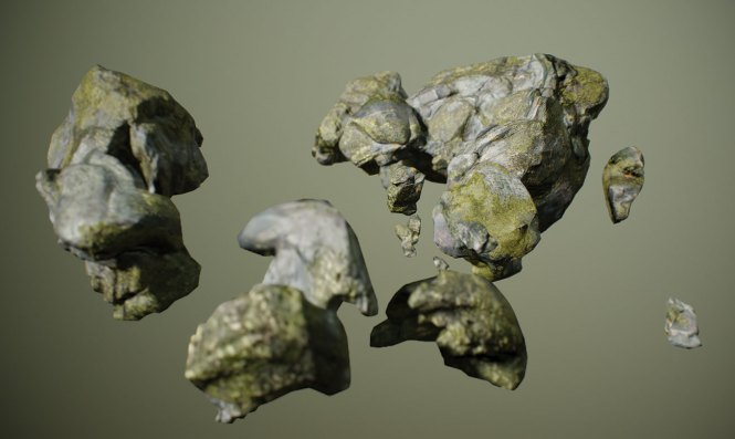 Level up your VR art: Add rocks