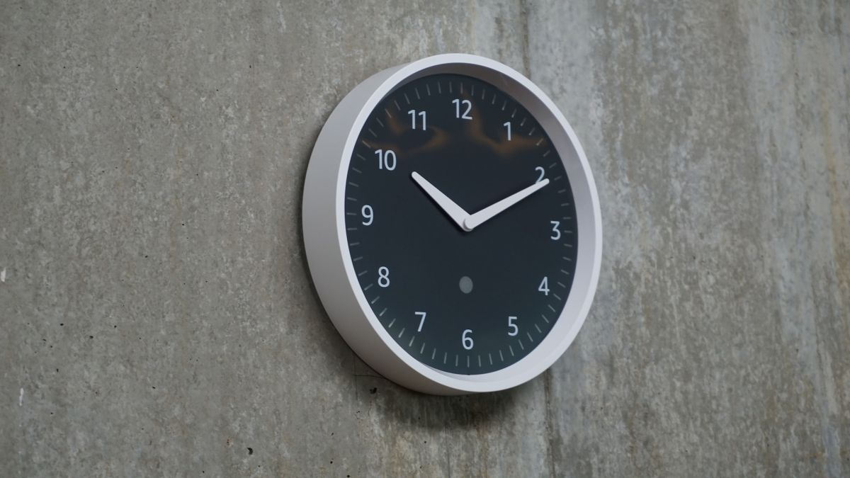 digital clock face