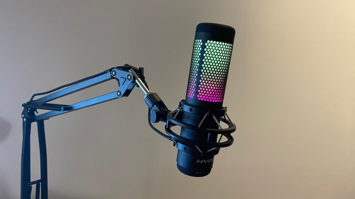 The best gaming microphone with RGB lighting: HyperX Quadcast S