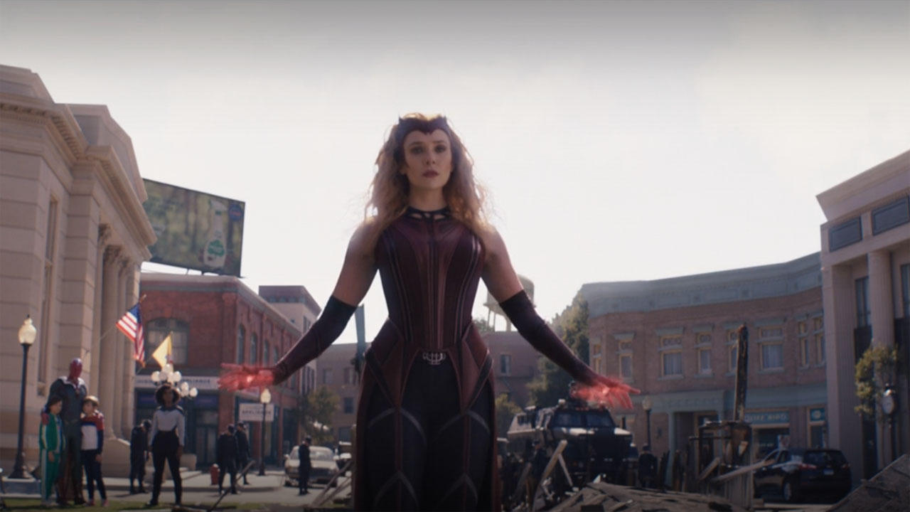Elizabeth Olsen's Wanda Maximoff becomes Scarlet Witch in WandaVision