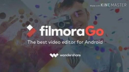 Best video editing apps: Filmora logo