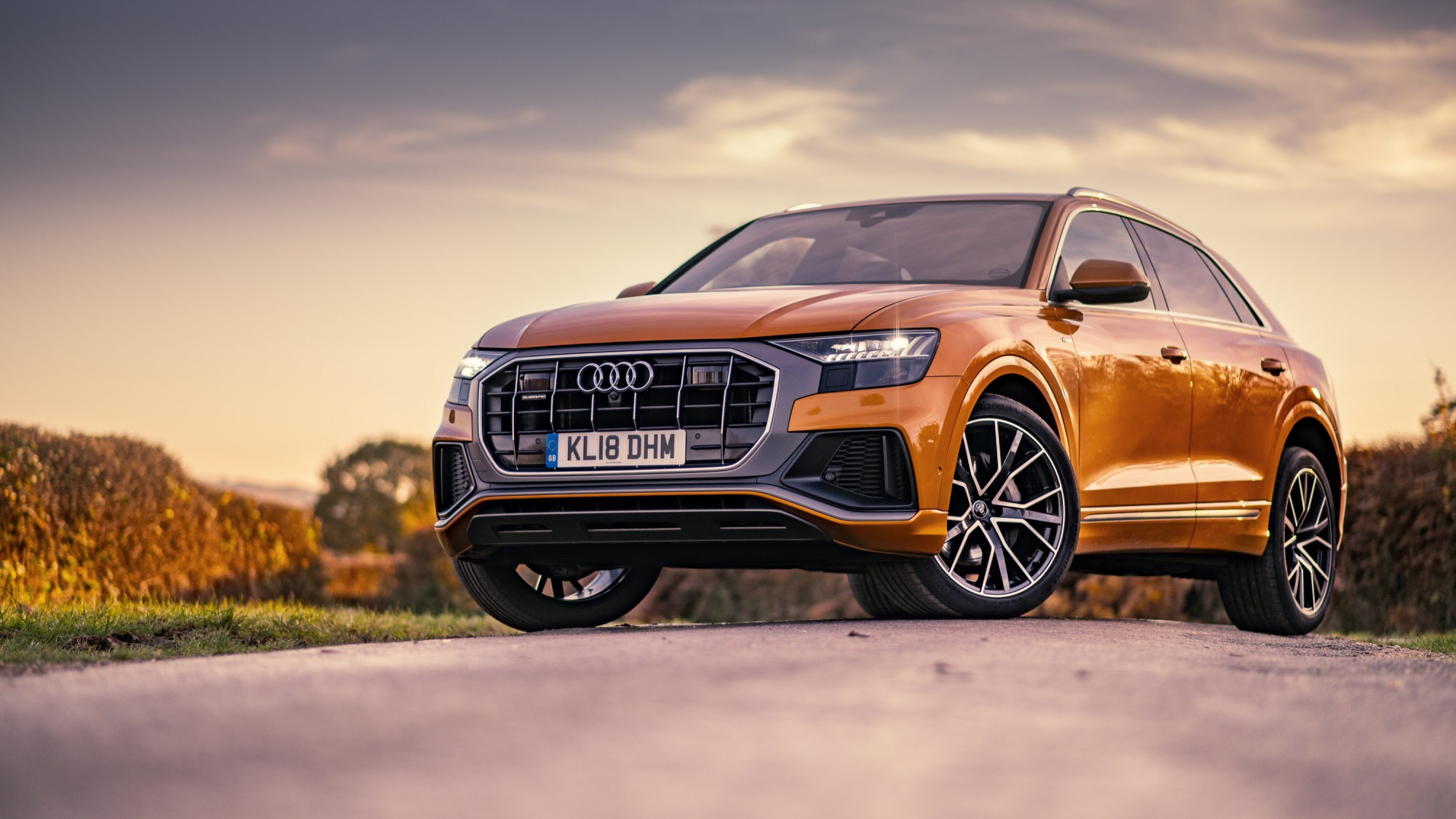 hight resolution of audi q8 when coup meets suv
