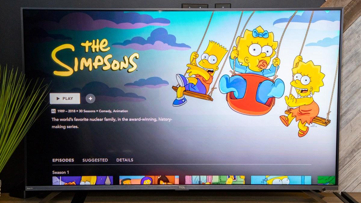 Disney Plus review: The Simpsons