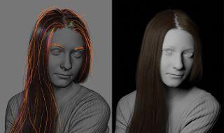 Create a lifelike digital human: Hair
