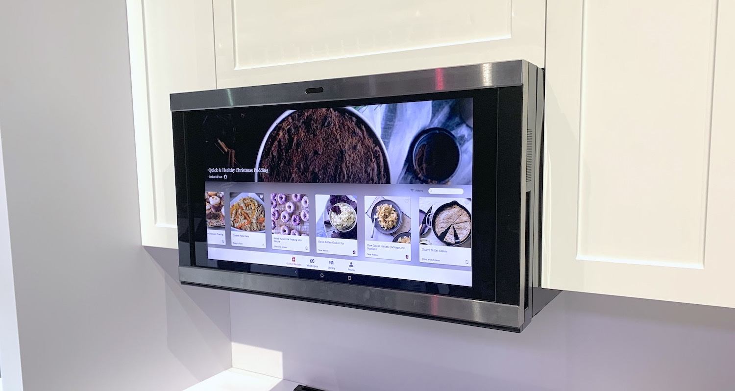 kitchen hub is the smartest microwave