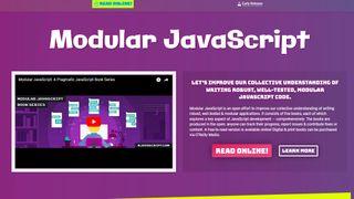 Modular Javascript