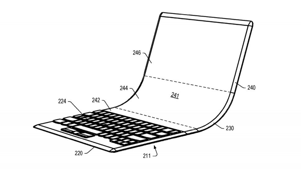 Lenovo's foldable laptop concept gives you more screen for