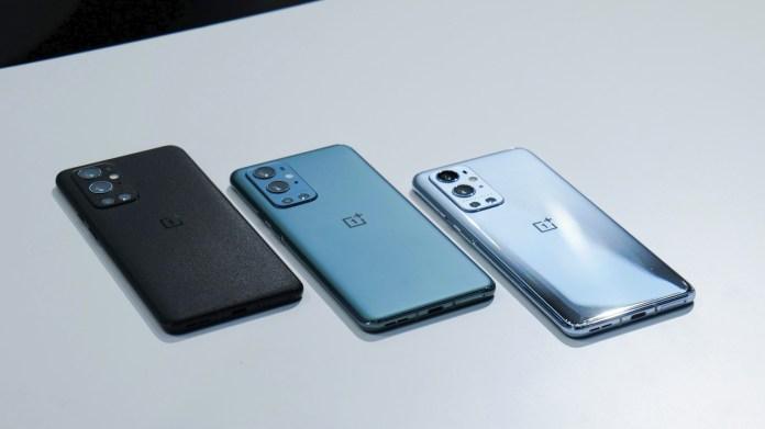 OnePlus 9T: OnePlus 9 Pro colors