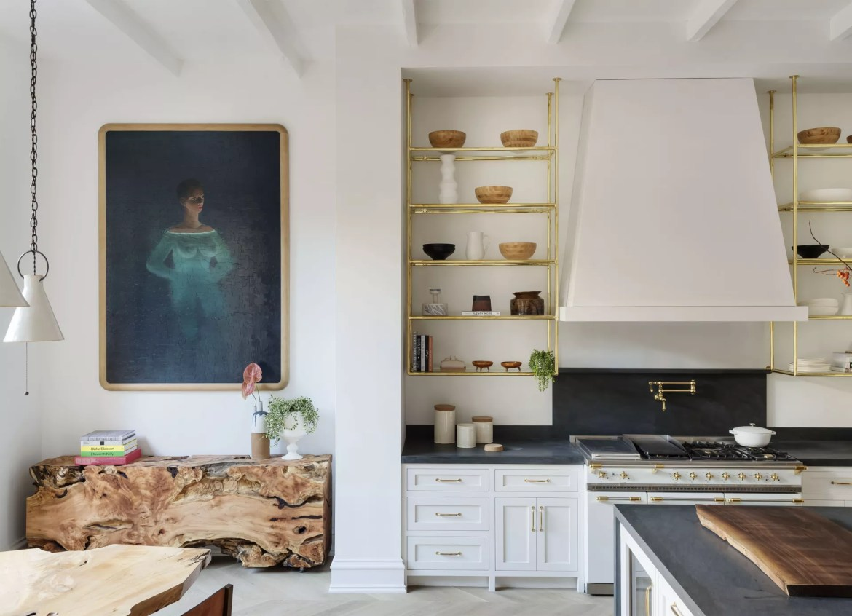 California casual kitchen
