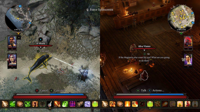 The best split screen PS4 games: divinity original sin ii