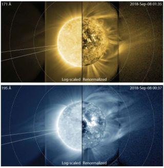 cires sun's middle corona