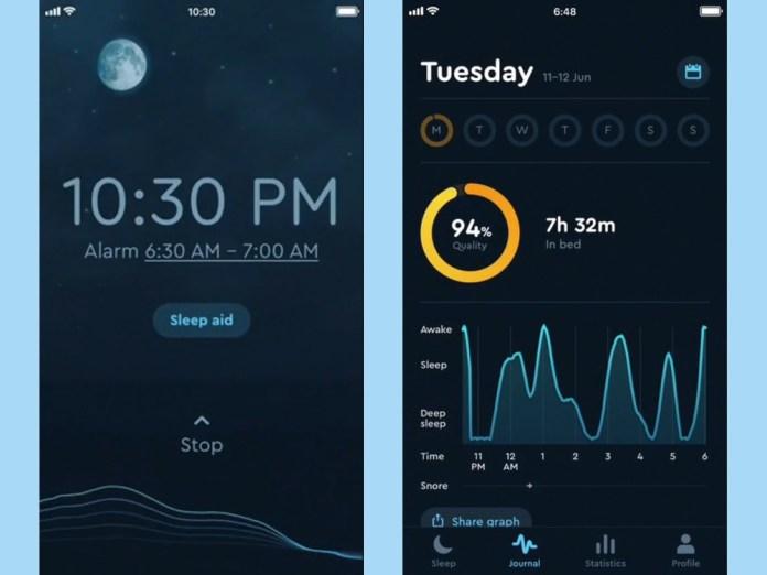 best sleep apps: sleep cycle