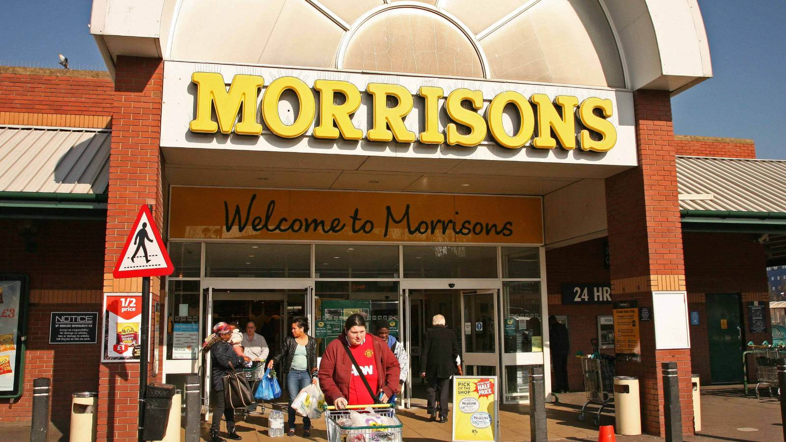 Morrisons food delivery