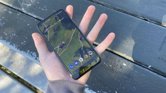 Google's patent suggests that the Pixel 6 may have a camera under the screen