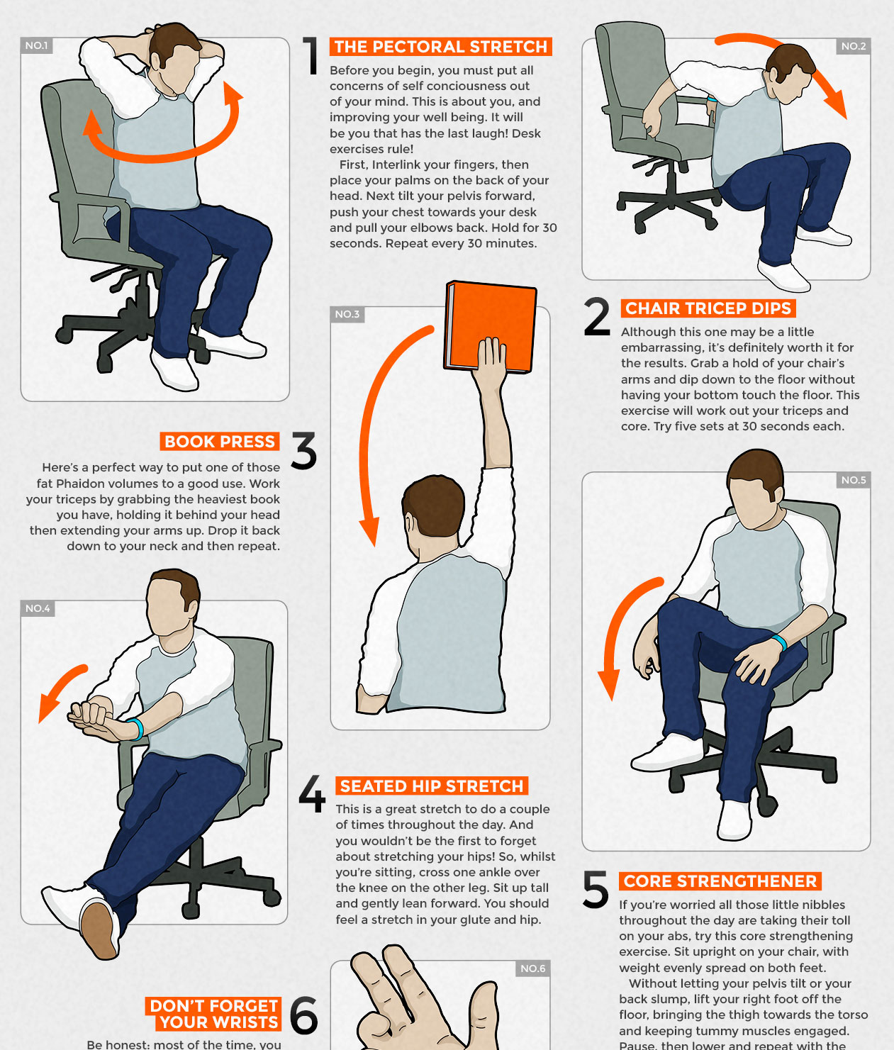 office chair workouts for abs white wooden rocking canada desk exercises hostgarcia