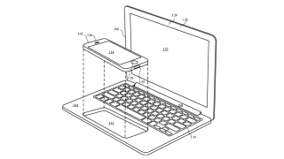 Apple patent reveals MacBook-like dock for iPhones and