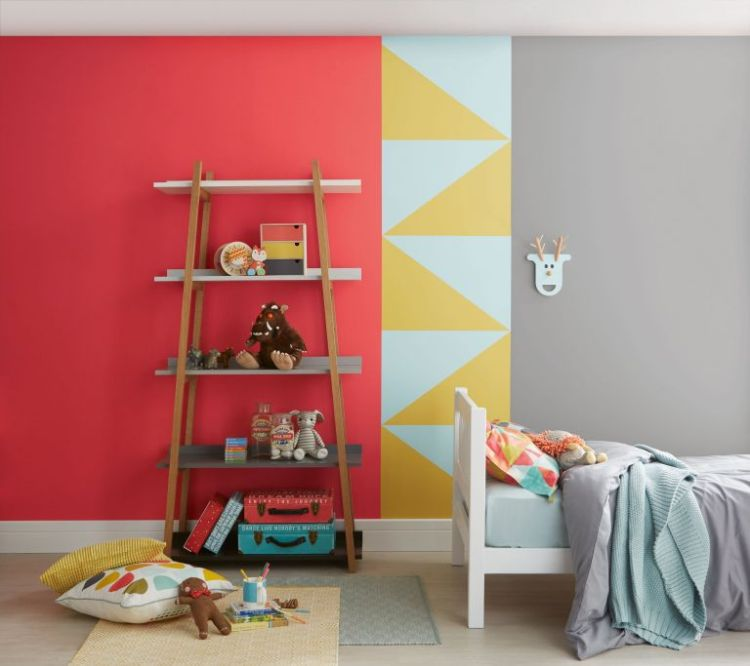 Paint Colour Schemes For Kids Bedrooms 15 Bright Ideas Real Homes