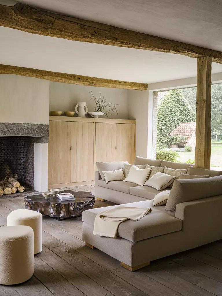 Pierre Frey modern rustic living room ideas