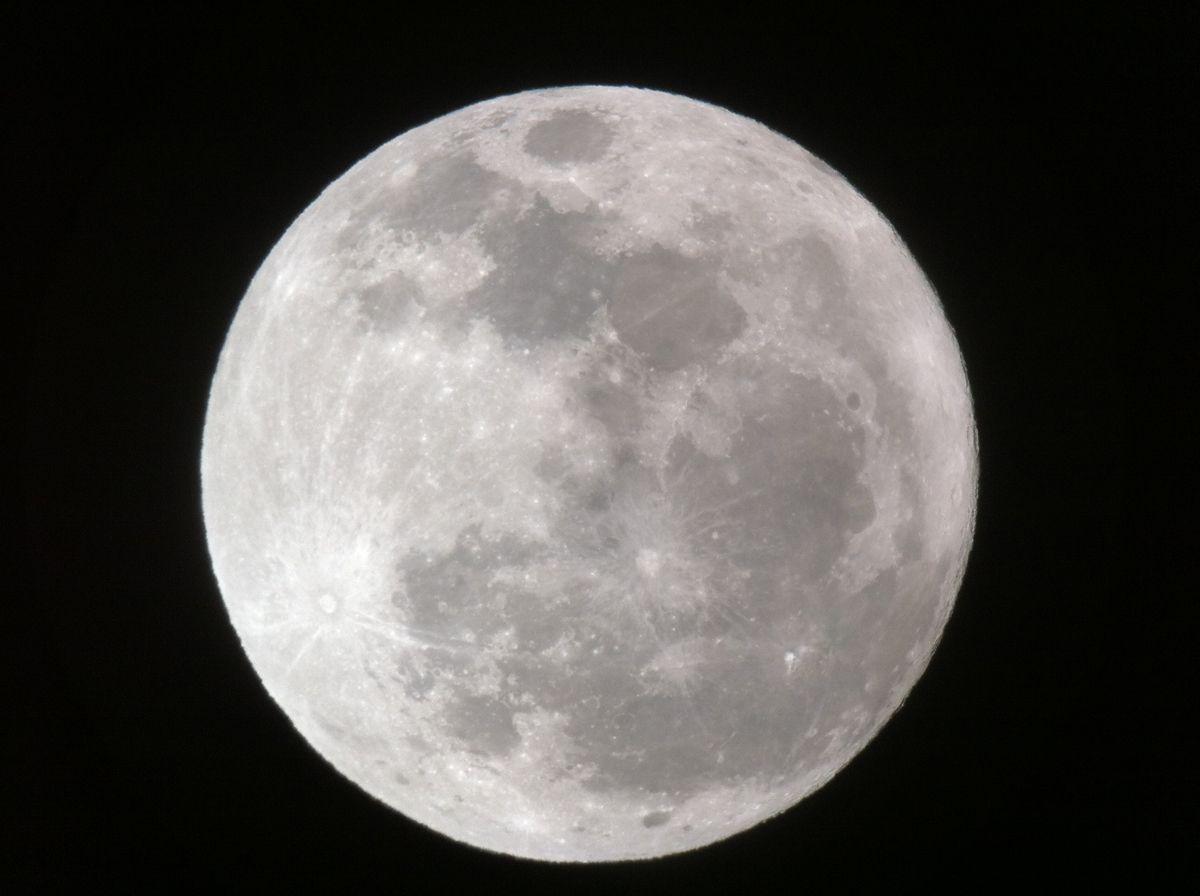 Full Moon Dominates PlanetFilled Night Sky Tonight  Space