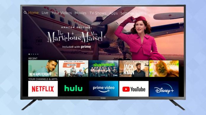 Best Amazon Fire TV: Toshiba 4K Fire TV Edition (2020 model)