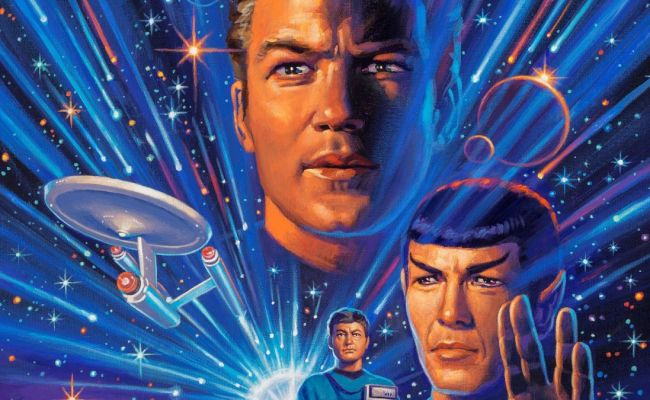 A Gorgeous Star Trek Cover Art Piece Featuring The