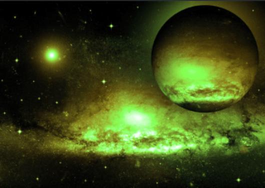 A vida alienígena pode ser muito diferente das criaturas da Terra.  Talvez, eles vomitam um gás tóxico chamado fosfina.