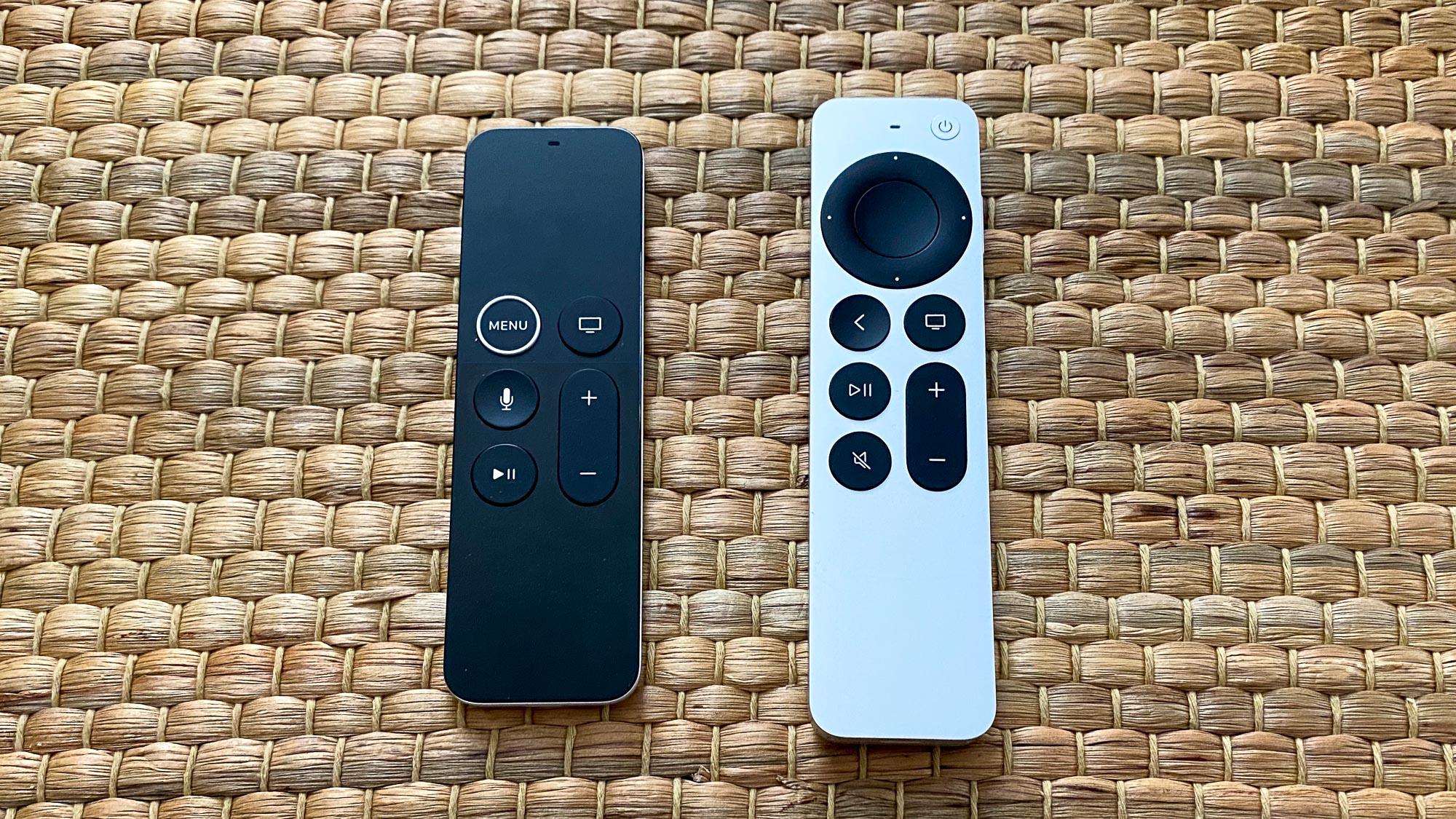 Apple TV 4K (2021) new remote
